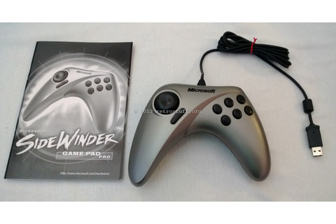 Microsoft SideWinder Strategic Commander and Game Pad Pro ...
