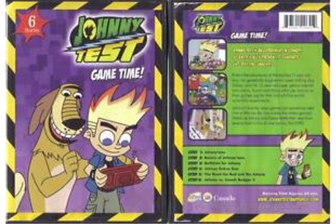 DVD:JOHNNY TEST GAME TIME.....6 STORIES 843501006559 | eBay