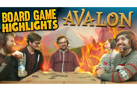 Board Game Highlights! #1 - Avalon: Nobody Trusts Trott ...
