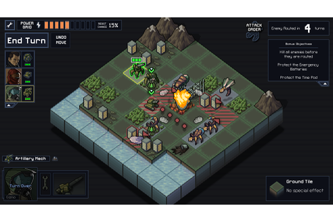 Into The Breach -- Watch me live, die, and repeat my way ...