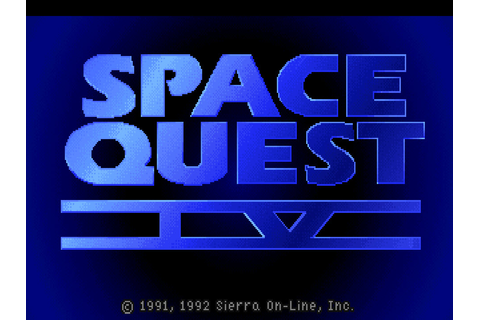 Space Quest IV: Roger Wilco and the Time Rippers – Sierra ...