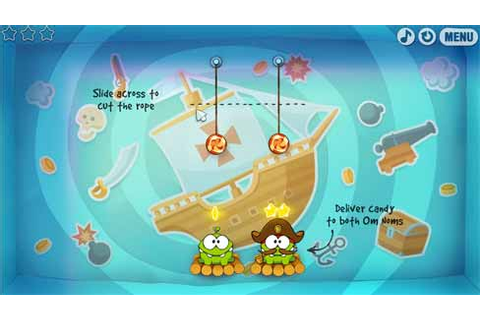 CUT THE ROPE: Time Travel ™ » FREE GAME at gameplaymania.com