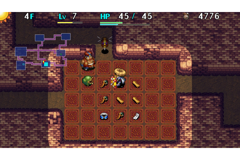 Shiren the Wanderer Dated for PlayStation Vita