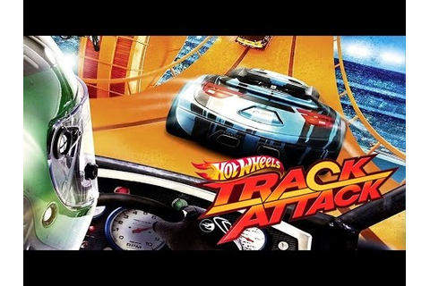 #1 Hot Wheels Track Attack - Track Builder - Video Game ...