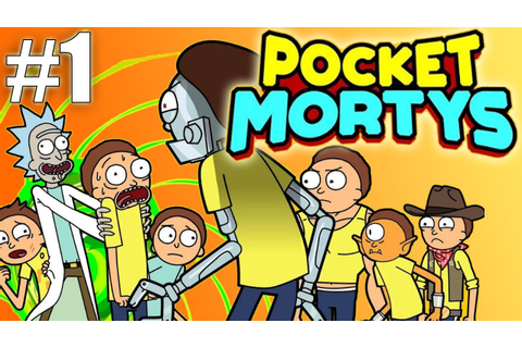 Pocket Morty's - The Rick & Morty Game! (The Pokemon Clone ...