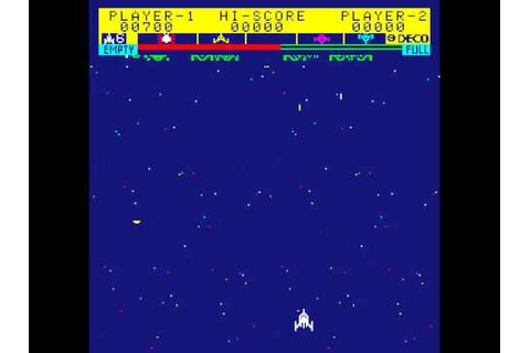 Arcade Game: Astro Fighter (1979 Data East) - YouTube