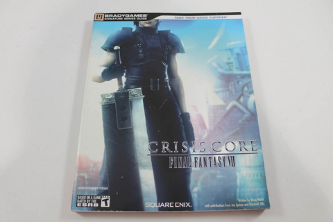Crisis Core-Final Fantasy VII Signature Series Guide ...