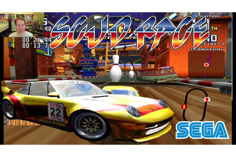 START YOUR ENGINES Scud Race Plus | Sega Arcade Game - YouTube