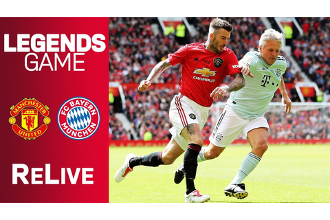 Manchester United vs. FC Bayern Legends 5-0 | Full Game ...