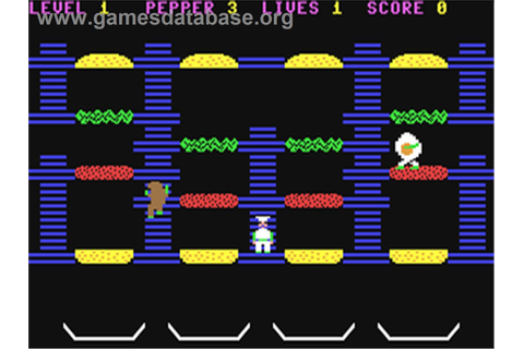 BurgerTime - Commodore 64 - Games Database
