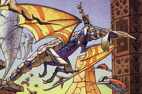 There's going to be a Panzer Dragoon VR game, but the ...
