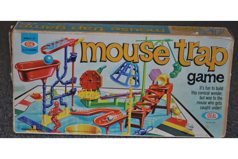 Vintage Board Game Princess: Mouse Trap Game