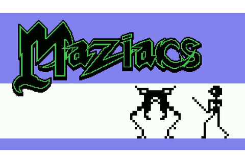 [MSX] Maziacs - Gameplay - YouTube