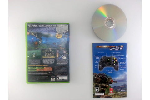 MechAssault 2 Lone Wolf game for Xbox (Complete) | The ...