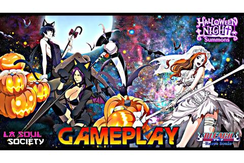 Bleach Brave Souls ' Game Play :New Orihime , Yoruichi ...