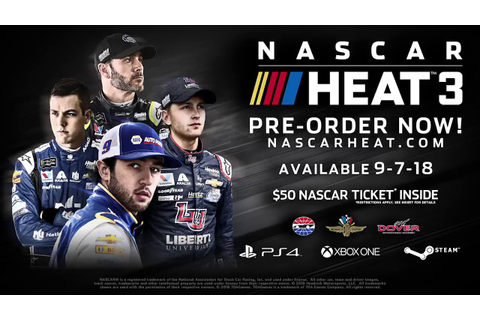 NASCAR Heat 3 Official Trailer - YouTube
