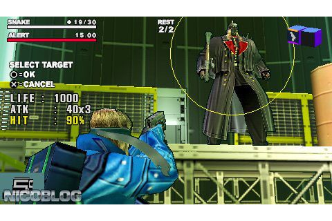 Metal Gear Acid 2 (Europe) PSP ISO | Cdromance