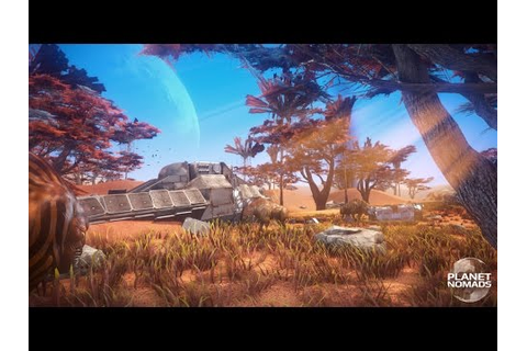 Planet Nomads Official Announcement Trailer - YouTube