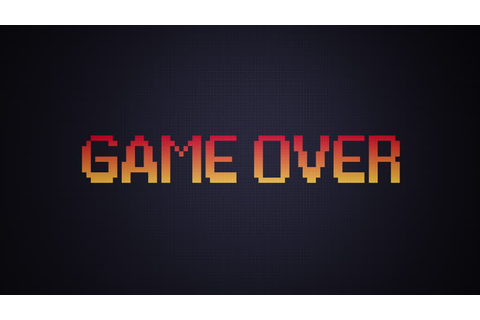 Game Over Insert Coin Arcade Stock Footage Video (100% ...