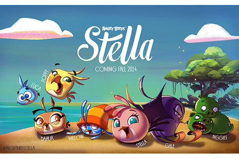 First Angry Birds Stella Game Will Debut This Fall: Rovio ...