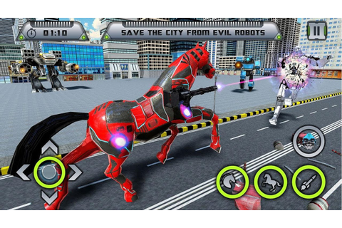 Car Robot Transformation Game - Horse Robot Games (By Game ...