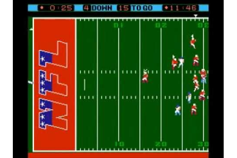 The Evolution of Football Video Games #2: LJN's NFL - YouTube