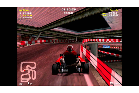 Michael Schumacher Racing World Tour Kart 2002 - Gameplay ...
