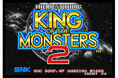 Play King of the Monsters 2 : The Next Thing SNK NEO GEO ...