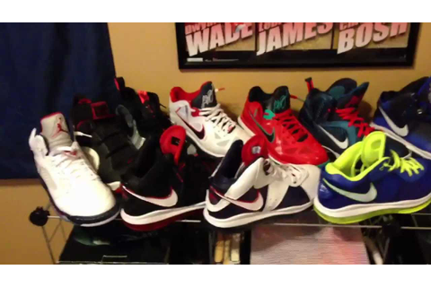 My Entire Shoe Collection All Together ( Nike / Jordan ...