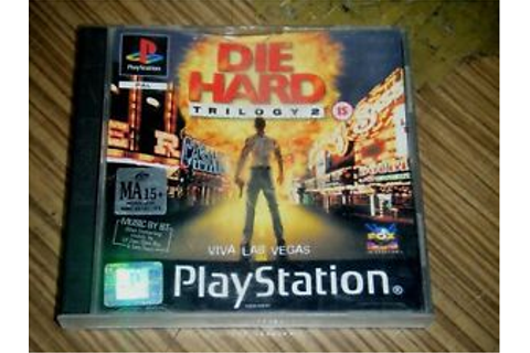 Playstation 1 PS1 Game - Die Hard Trilogy 2 Viva Las Vegas ...