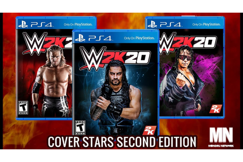WWE 2K20 COVER STARS FOR PLAYSTATION 4 AND X BOX ONE - YouTube