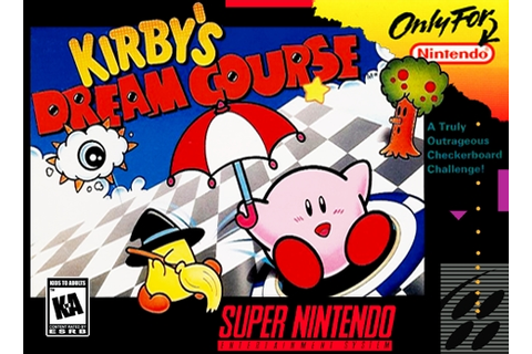 Kirby's Dream Course SNES Super Nintendo
