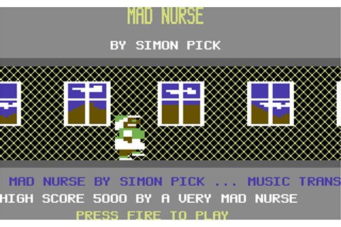 Mad Nurse - Commodore 64 Game / C64 Games, C64 reviews ...