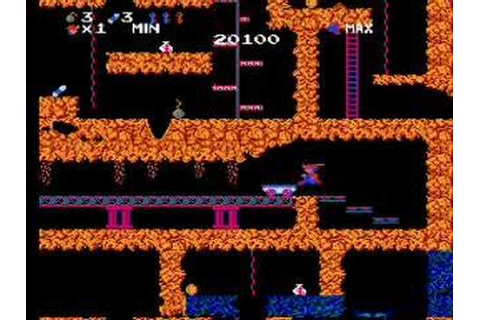 Obscure Game Theater - Spelunker - NES - YouTube