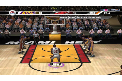 NBA LIVE 07 PC Gameplay HD - YouTube