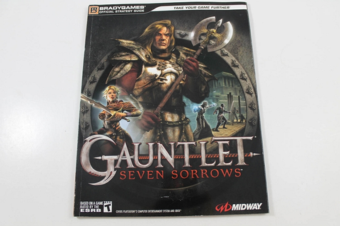 Gauntlet: Seven Sorrows Official Strategy Guide - Brady Games