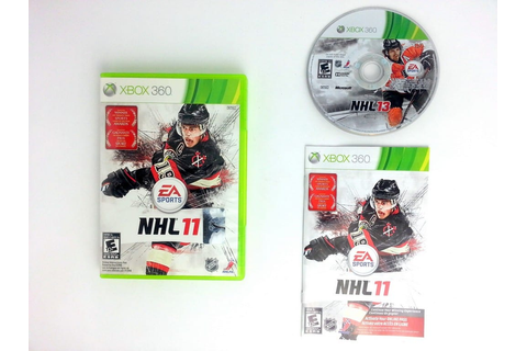 NHL 11 game for Xbox 360 (Complete) | The Game Guy