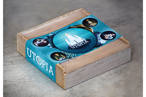 Utopia Board Game on Behance