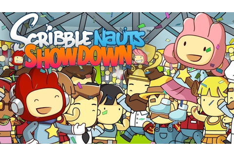 Scribblenauts Showdown Board Game PREVIEW Switch - YouTube