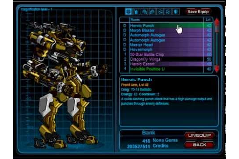 Mechquest- Automorph Mech Review! Mecha Available Again in ...