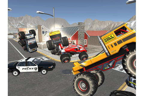 Savage Monster Truck- Cop Car Chase 3D Games 1.4 APK by ...