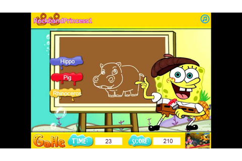 Play Free Games Spongebob - Spongebob Draws Something Game ...
