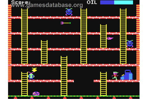 Felix in the Factory - Commodore 64 - Games Database