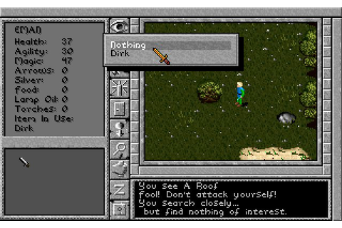 Download Prophecy of the Shadow rpg for DOS (1992 ...