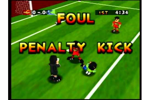 J League Eleven Beat - Nintendo 64 - YouTube