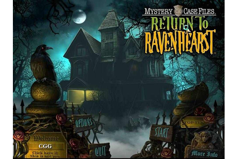 Mystery Case Files Return to Ravenhearst Download Free ...