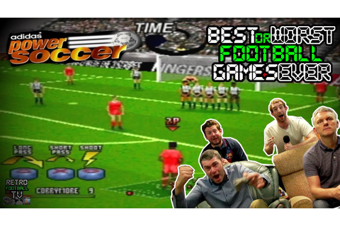 Adidas Power Soccer | Best/Worst Football Games EVER ...