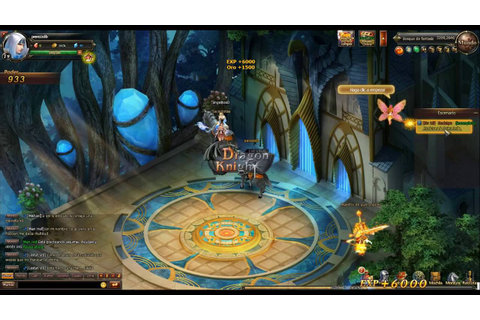 Dragon Knight Online Español facebook game first look ...
