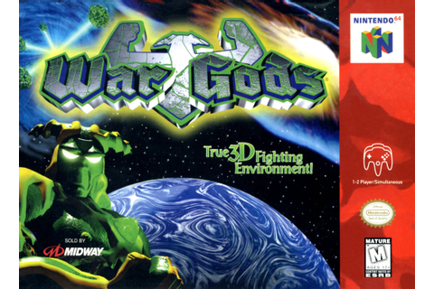 War Gods Nintendo 64 Game