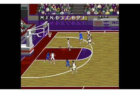 Play NCAA Final Four Basketball (USA) • Super Nintendo GamePhD